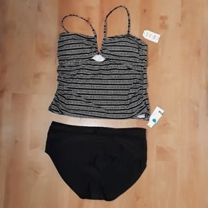 Time and Tru Missy Mix & Match Bathing Suit